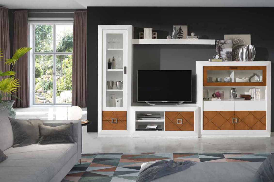 Muebles madera maciza online for Muebles salon madera maciza
