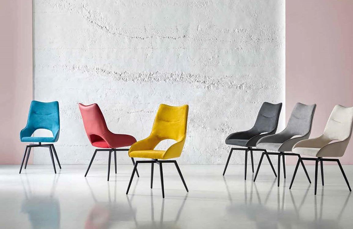 Amueblar con sillas cl sicas for Tapizados de sillas modernas