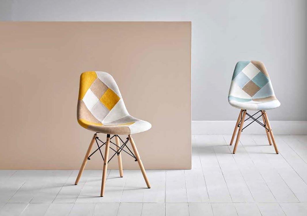 amueblar con sillas tapizadas