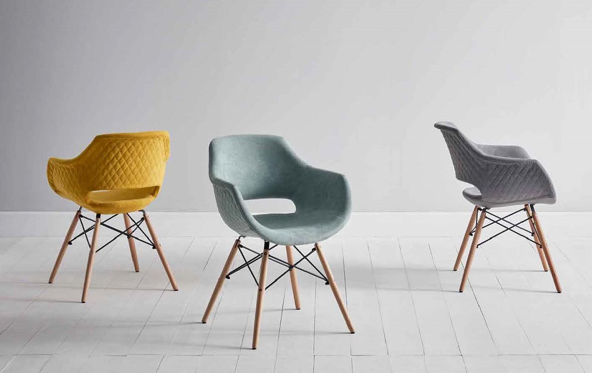Sillas modernas en madrid for Tapizados de sillas modernas