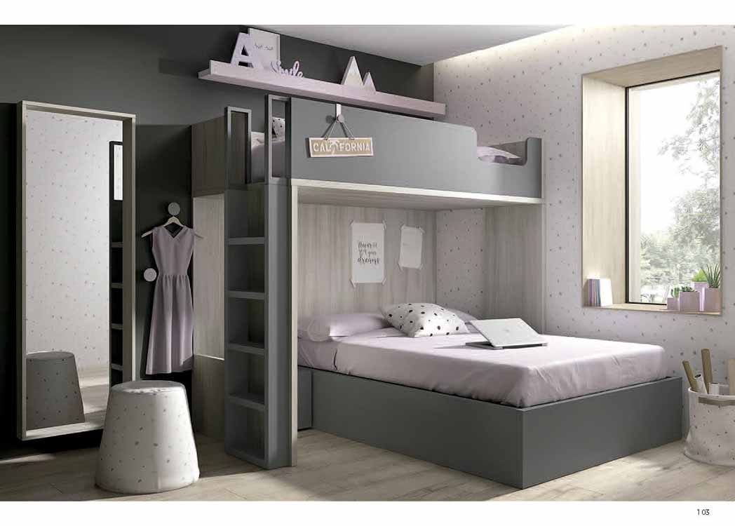 Muebles troncoso camas individuales 20170721103123 for Recamara individual juvenil