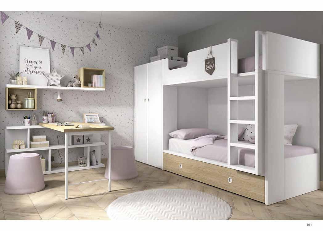 http://www.munozmuebles.net/nueva/catalogo/juveniles-macizos.html - Mueble  acogedor moderno