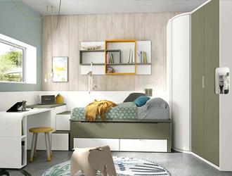 Muebles juveniles modulares for Camas modulares juveniles
