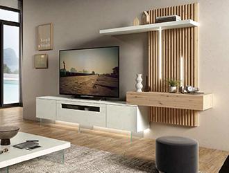 Muebles de sal n actuales for Fotos de muebles de salon